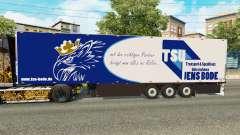Semi-reboque frigorífico Schmitz Jens Bode para Euro Truck Simulator 2