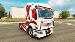 Pele Metalizado para trator Renault para Euro Truck Simulator 2