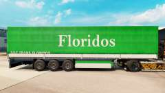 Pele Floridos para reboques para Euro Truck Simulator 2
