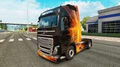 Cúbica Flare pele para a Volvo caminhões para Euro Truck Simulator 2