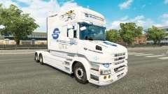 SovTransAuto pele para a Scania T caminhão para Euro Truck Simulator 2