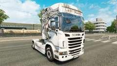 Pele Último Dragão no trator Scania para Euro Truck Simulator 2