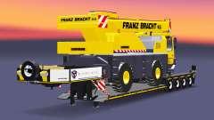 Baixa varrer caminhão guindaste Liebherr LTM 1030 para Euro Truck Simulator 2