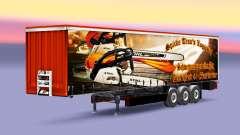 O Pico de Trans Logística pele para reboques para Euro Truck Simulator 2