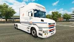 Transalliance pele para a Scania T caminhão para Euro Truck Simulator 2