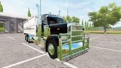 Peterbilt 389 grain truck v2.0 para Farming Simulator 2017
