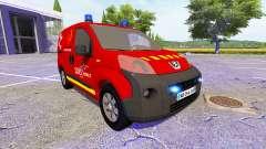 Peugeot Bipper SDIS para Farming Simulator 2017