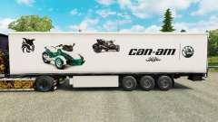 A pele Pode-Estou na semi para Euro Truck Simulator 2