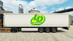 Pele LD Mercado para reboques para Euro Truck Simulator 2