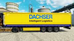 Dachser pele para engate de reboque para Euro Truck Simulator 2