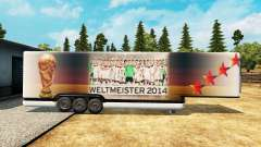 Semi-reboque-o frigorífico da Copa do Mundo de 2014 para Euro Truck Simulator 2