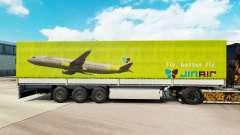 Pele Jin Ar para reboques para Euro Truck Simulator 2
