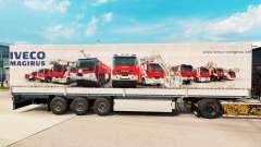 Pele Iveco Magirus para reboques para Euro Truck Simulator 2