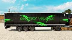 Pele Sachs Trans em uma cortina semi-reboque para Euro Truck Simulator 2