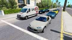 Avançada de tráfego v1.4 para American Truck Simulator