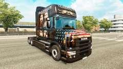 A pele do Pato Dinastia para caminhão Scania T para Euro Truck Simulator 2