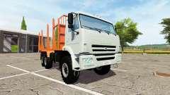 KAMAZ-43118-24 de caminhão para Farming Simulator 2017