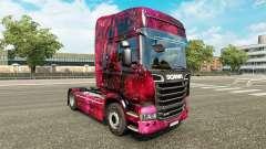Pele Weltall no tractor Scania para Euro Truck Simulator 2