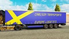 Carlson Transporte de pele para reboques para Euro Truck Simulator 2