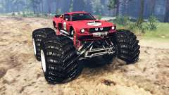 Ford Mustang Shelby GT500 [monster truck] para Spin Tires