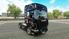 Pele Crasy Trans Logística v2.0 caminhão Scania para Euro Truck Simulator 2