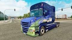 Para a pele do caminhão Scania T para Euro Truck Simulator 2