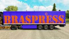 Braspress pele para reboques para Euro Truck Simulator 2