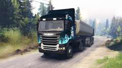 Scania R730 2x2 para Spin Tires