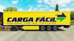 Pele Carga Facil na semi para Euro Truck Simulator 2