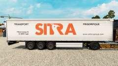 Sitra pele para cortina semi-reboque para Euro Truck Simulator 2