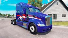 Pele B. T. INC. o trator Peterbilt 387 para American Truck Simulator