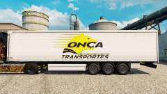 Onca Transportes pele para reboques para Euro Truck Simulator 2