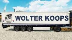 Wolter Koops pele para cortina semi-reboque para Euro Truck Simulator 2