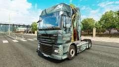 Zombie pele para caminhões DAF para Euro Truck Simulator 2