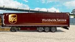 Pele United Parcel Service para reboques para Euro Truck Simulator 2
