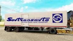 Semi-reboque-o frigorífico de Odaz 9786 Sovtransavto para Euro Truck Simulator 2