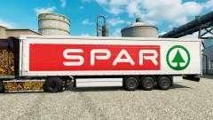 A pele LONGARINA para reboques para Euro Truck Simulator 2