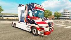 Rocky EUA pele para caminhão Scania T para Euro Truck Simulator 2
