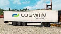 Logwin pele para reboques para Euro Truck Simulator 2