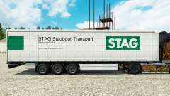 Pele de Veado Staubgut Transporte de semi-reboques para Euro Truck Simulator 2