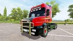 Scania T164 three-axle para Farming Simulator 2017