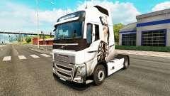 Sexy Fantasia de pele para a Volvo caminhões para Euro Truck Simulator 2