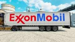 A Exxon Mobil pele para reboques para Euro Truck Simulator 2