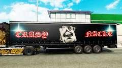 Pele Crasy Trans Logística v2.0 para reboques para Euro Truck Simulator 2