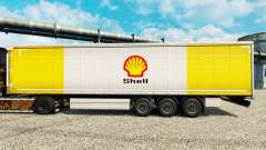 Pele Royal Dutch Shell na semi para Euro Truck Simulator 2