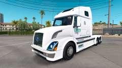 Epes Transporte de pele para a Volvo caminhões VNL 670 para American Truck Simulator