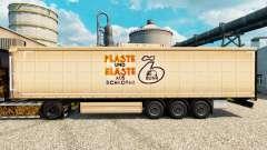 Pele Plaste und Elaste para reboques para Euro Truck Simulator 2