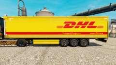 Pele DHL v4 para reboques para Euro Truck Simulator 2