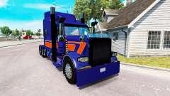 Rollin Transporte de pele para o caminhão Peterbilt 389 para American Truck Simulator