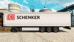 Schenker pele para engate de reboque para Euro Truck Simulator 2